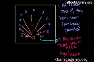 Brain Teasers : Blue Forehead Room Solut... Volume Math series by Sal Khan