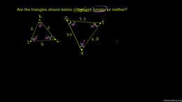 Triangles : Congruent and Similar Triang... Volume Triangles series by Sal Khan
