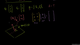 Change of basis : Change of Basis Matrix Volume Linear Algebra series by Sal Khan