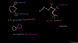 Naming alkanes : Organic Chemistry Namin... Volume Organic Chemistry series by Sal Khan