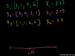 Sampling distribution : Central Limit Th... Volume Probability and statistics series by Sal Khan