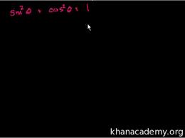 Trigonometric identities : Trigonometric... Volume Trigonometry and precalculus series by Sal Khan