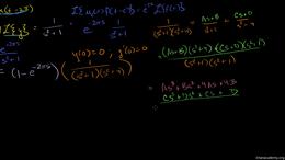 Laplace transform to solve a differentia... Volume Differential Equations series by Sal Khan