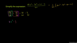 Dividing polynomials : Polynomial divide... Volume Algebra series by Sal Khan