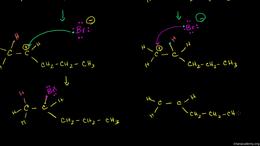 Alkene reactions : Markovnikov's Rule an... Volume Organic Chemistry series by Sal Khan