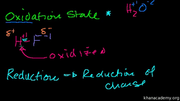 Oxidation reduction : Introduction to Ox... Volume Science & Economics series by Sal Khan
