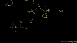 Reactions of alcohols : formation of nit... Volume Organic Chemistry series by Sal Khan