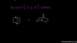 Naming alkanes, cycloalkanes, and bicycl... Volume Organic Chemistry series by Sal Khan