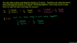 Rational expressions and equations : App... Volume Algebra series by Sal Khan