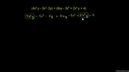 Polynomial basics : Example: Adding poly... Volume Algebra series by Sal Khan
