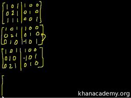 Inverting matrices : Inverting Matrices ... Volume Algebra series by Sal Khan