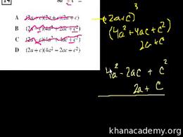 Algebra II : CA Standards: Algebra II Volume Test Prep series by Sal Khan