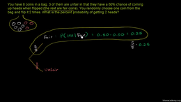 Dependent events : Example: Dependent pr... Volume Trigonometry and precalculus series by Sal Khan