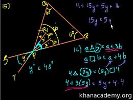 SAT Math : SAT Prep: Test 1 Section 6 Pa... by Sal Khan