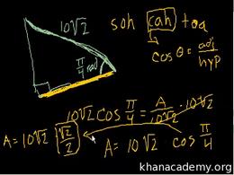 Basic trigonometric ratios : Using Trig ... Volume Basic trigonometric ratios series by Sal Khan