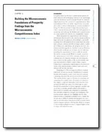 Chapter 1. 2 Building the Microeconomic ... by Porter, Michael E.