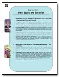 World Bank Brief Water Supply and Sanita... by The World Bank