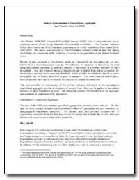 Note on Construction of Expenditure Aggr... by The World Bank