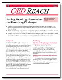 Sharing Knowledge : Innovations and Rema... by The World Bank