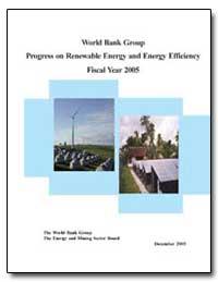 World Bank Group Progress on Renewable E... by The World Bank