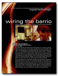 Wiring the Barrio Information Technology... by The World Bank