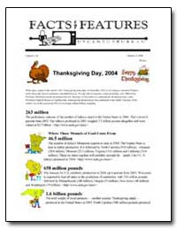 Thanksgiving Day, 2004 by U. S. Census Bureau Department