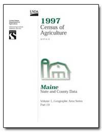 1997 Census of Agriculture : Maine by U. S. Census Bureau Department