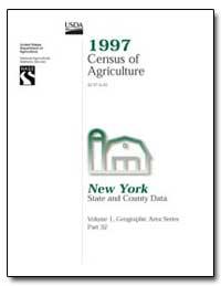 1997 Census of Agriculture : New York by U. S. Census Bureau Department