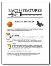 Halloween 2003 : Oct. 31 by U. S. Census Bureau Department