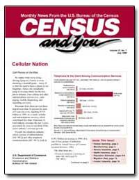 Cellular Nation by U. S. Census Bureau Department