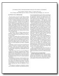 Customer Satisfaction Measurement Issues... by U. S. Census Bureau Department