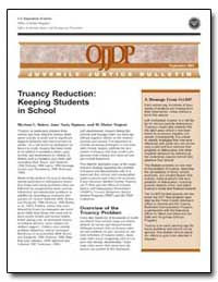 Truancy Reduction : Keeping Students in ... by Baker, Myriam L.