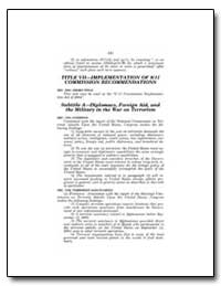Title Vii—Implementation of 9/11 Commiss... by Government Printing Office
