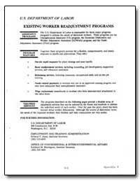 Existing Worker Readjustment Programs by Department of Defense