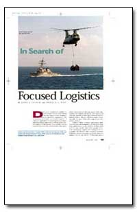 In Search of Focused Logistics by Cusick, John J.