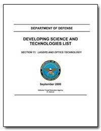 Section 11: Lasers and Optics Technology by Department of Defense