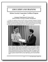 Defense Security Cooperation Certificate... by Currie, Karen W., Lieutenant Colonel