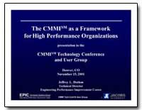 The Cmmi Sm as a Framework for High Perf... by Dutton, Jeffrey L.