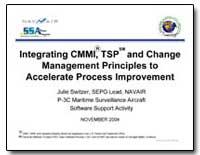Integrating Cmmi, Tsp and Change Managem... by Switzer, Julie