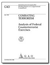 Analysis of Federal Counterterrorist Exe... by Department of National Security