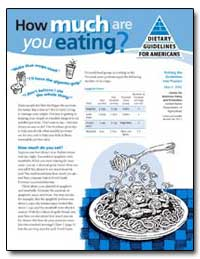 How Much Are You Eating? by