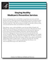 Staying Healthy Medicares Preventive Ser... by