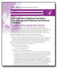 Quick Facts about Medicare Prescription ... by