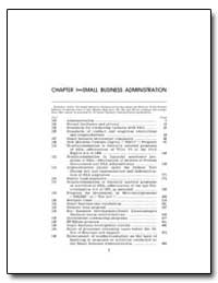 Chapter 1 : Small Business Administratio... by Small Business Administration