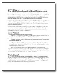 The Y2K Action Loan for Small Businesses by Small Business Administration