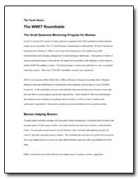 The Facts about the Wnet Roundtable the ... by Small Business Administration