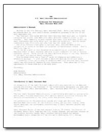 Sba U.S. Small Business Administration G... by Alvarez, Aida