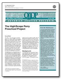 The High / Scope Perry Preschool Project by Parks, Greg