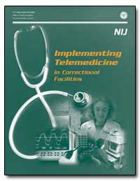 Implementing Telemedicine in Correctiona... by Hart, Sarah V.