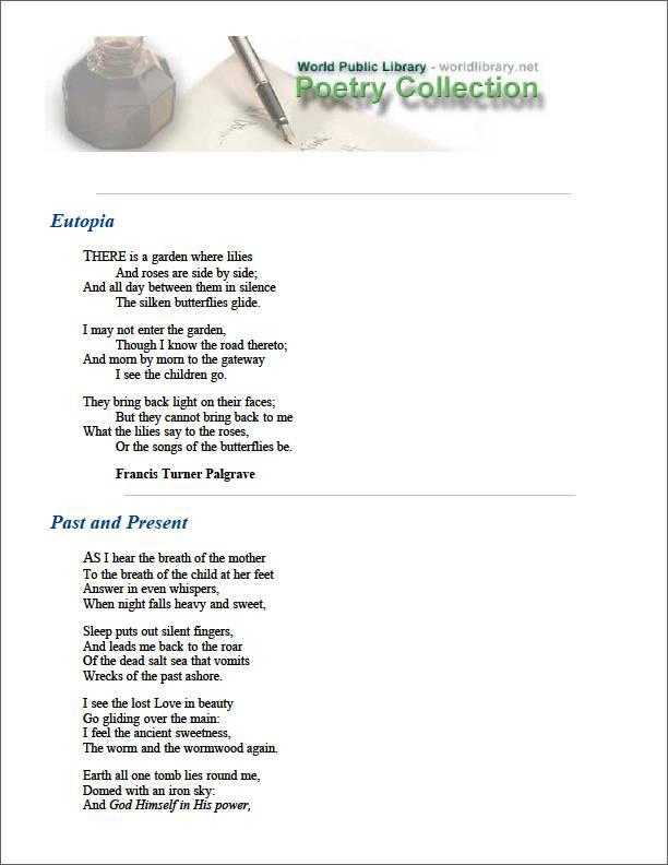 Eutopia by Palgrave